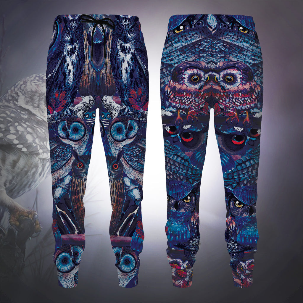 Owl Blues Jogger Pants