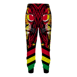 Dreadlocks Rasta Jogger Pants