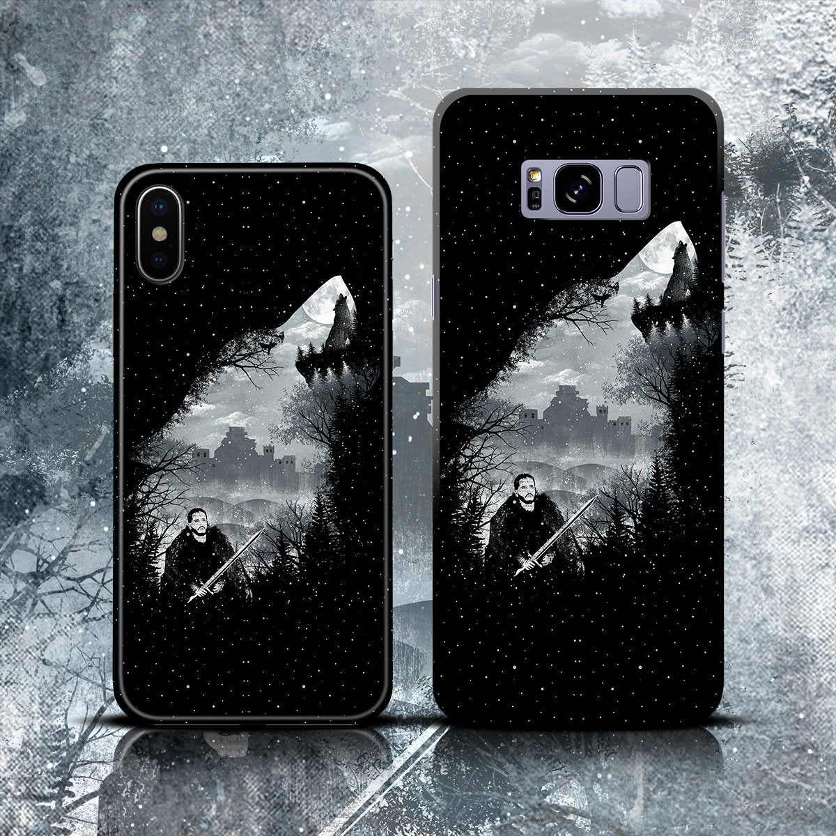 King Of The North Phone Case