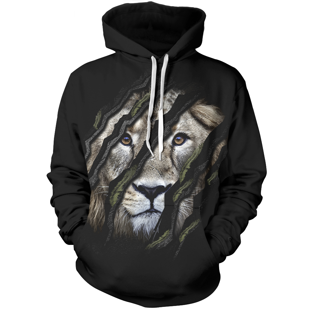Claw Marks Unisex Pullover Hoodie M