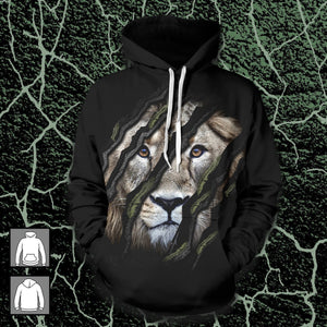 Claw Marks Unisex Pullover Hoodie