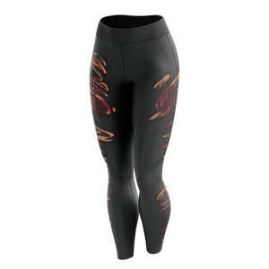 Burnt Hot Unisex Tights Leggings