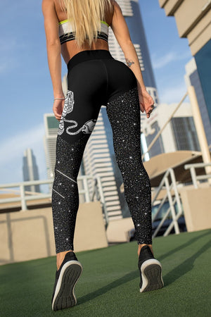 Carpet Of Stars Unisex Tights Leggings