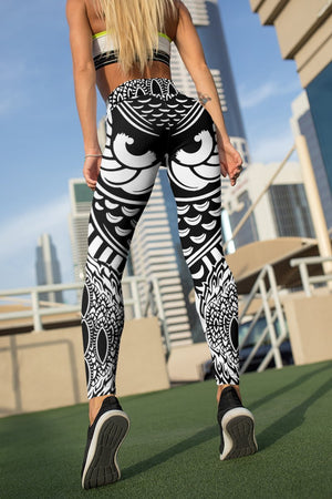 Watchful Eyes Unisex Tights Leggings