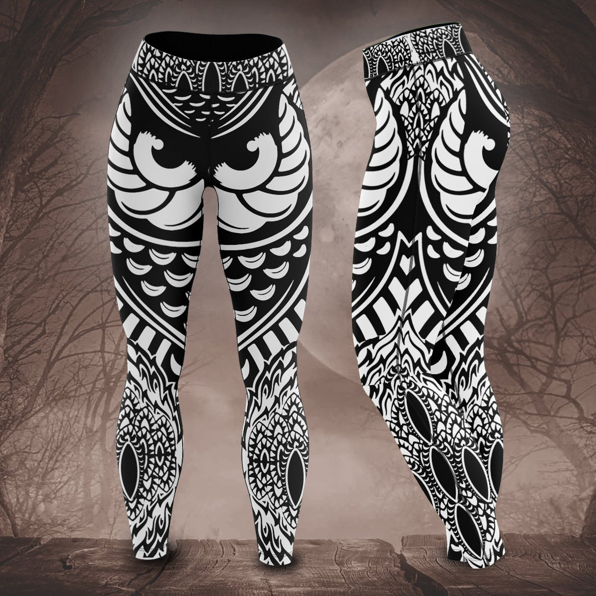 Watchful Eyes Unisex Tights S Leggings