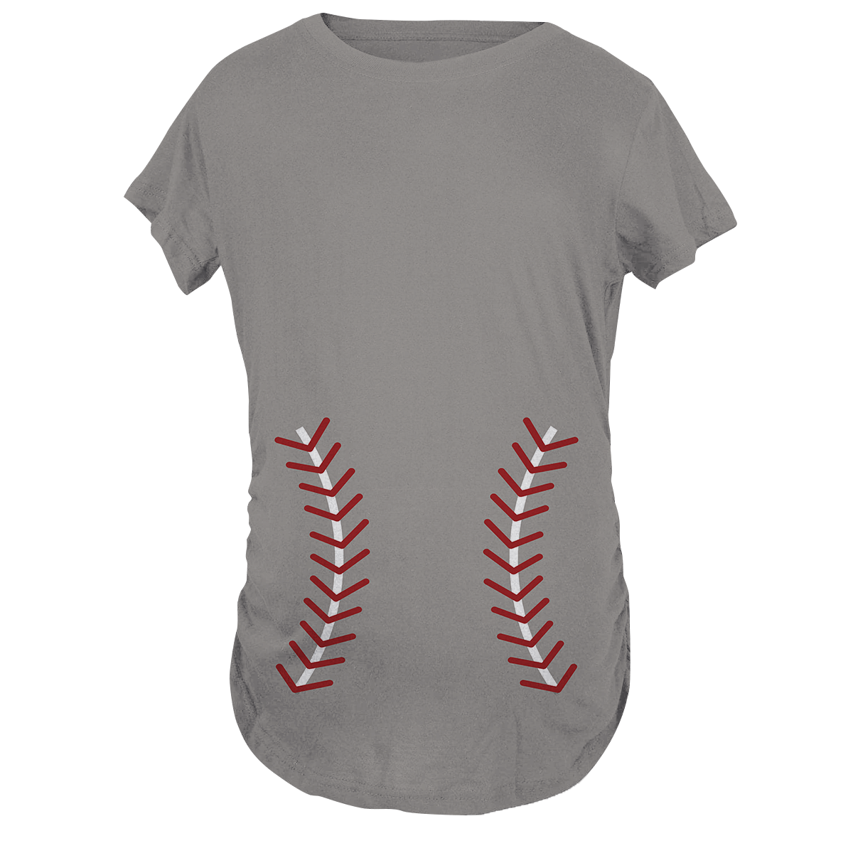 Baseball Baby Maternity T-Shirt