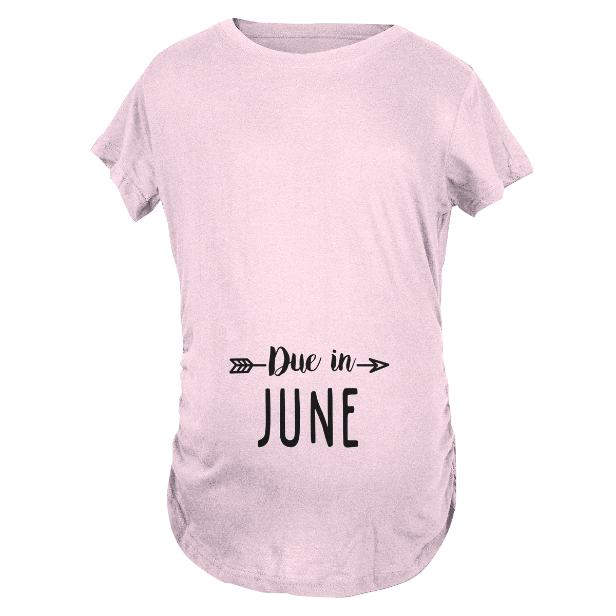 Due in June Maternity T-Shirt