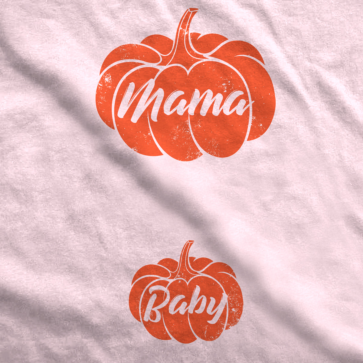 Mama and Baby Pumpkin Maternity T-Shirt