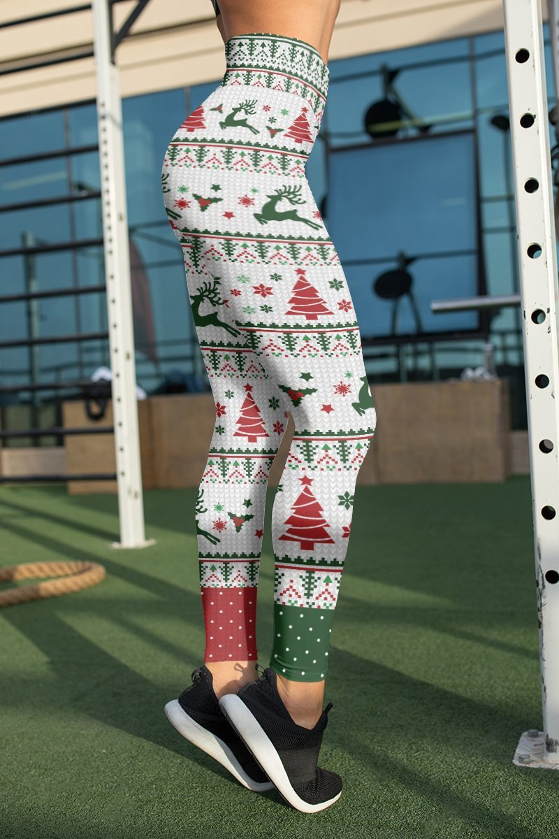 Merry Xmas Unisex Tights Leggings