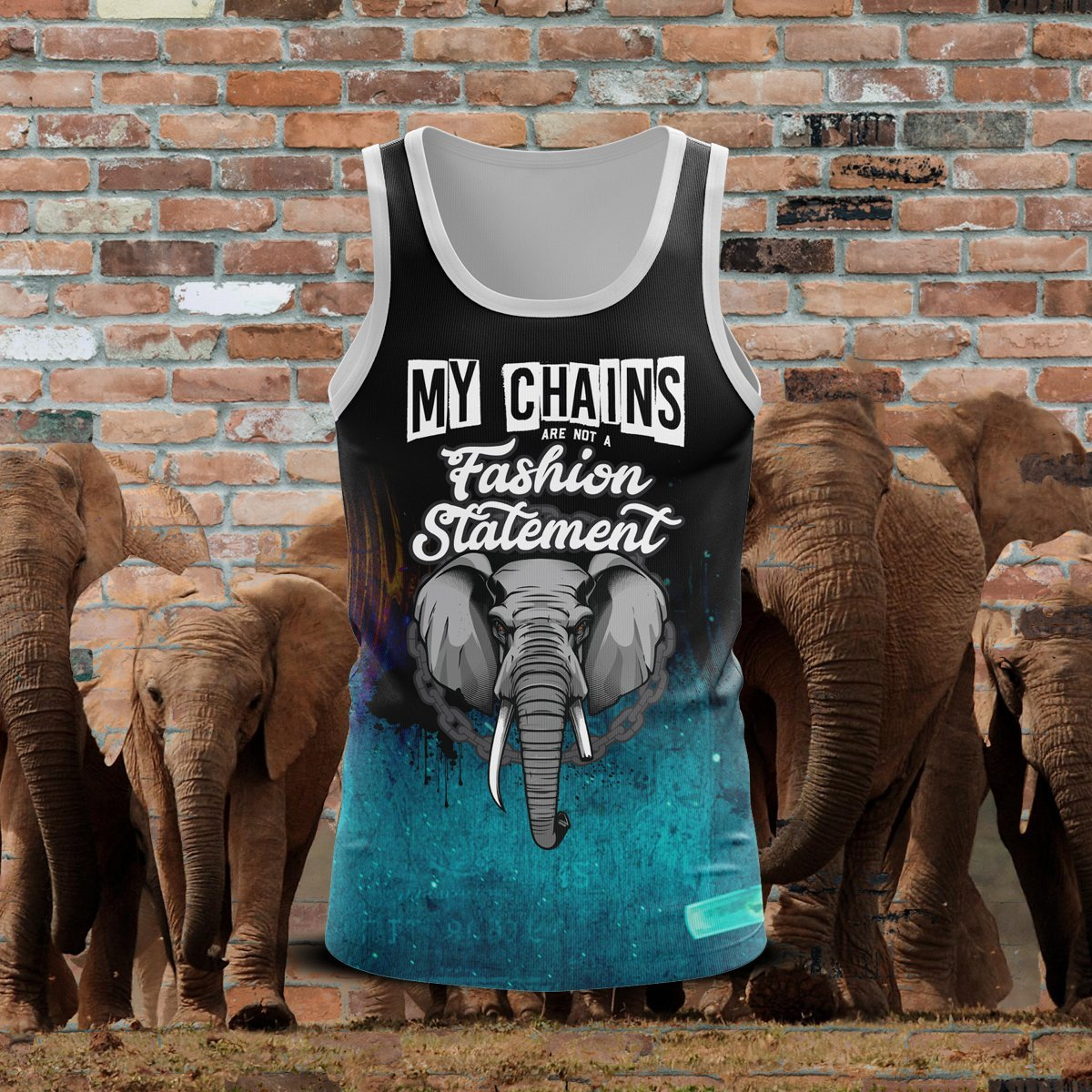 My Chains Unisex Tank Tops S Tanktop