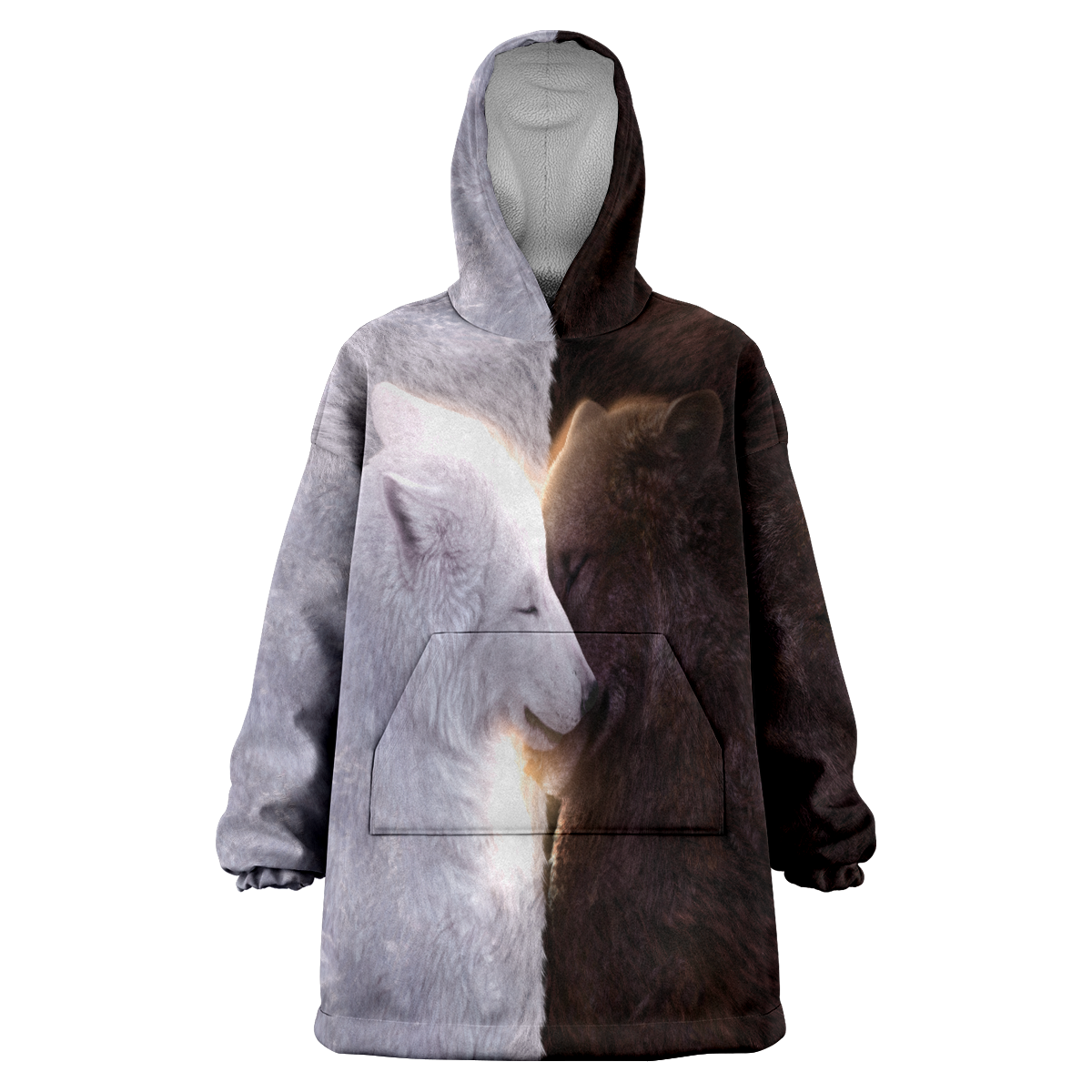 Wolf Mates Oversized Hoodie