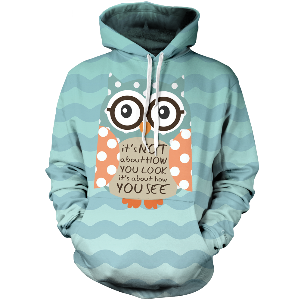Its Not About How You Look Unisex Pullover Hoodie M