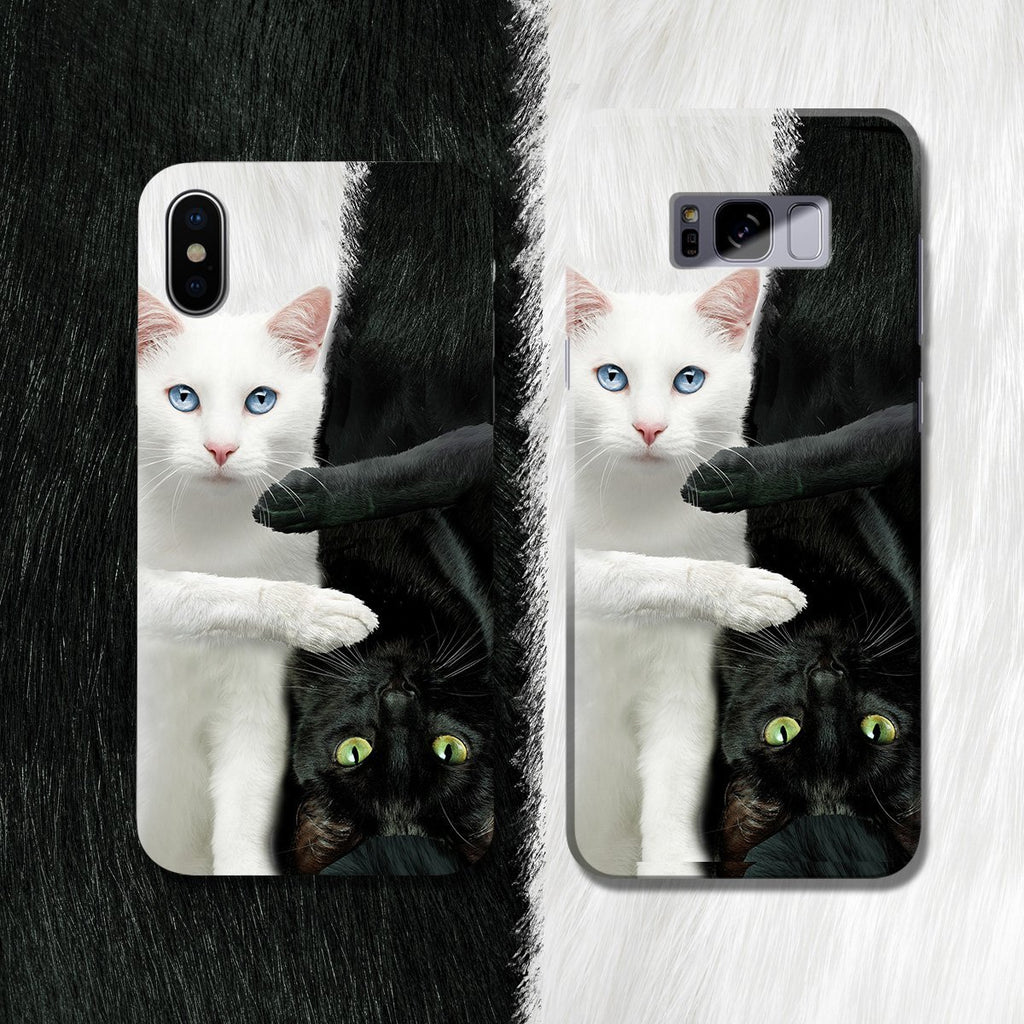 Yin Yang Cats Phone Case