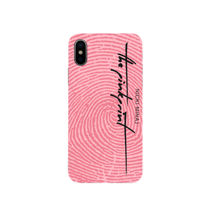 Pink Print Phone Case Iphone 6