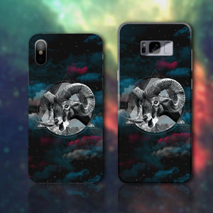 Horns & Space Phone Case