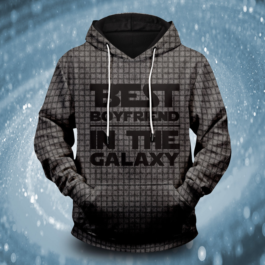 Best Boyfriend In The Galaxy Unisex Pullover Hoodie