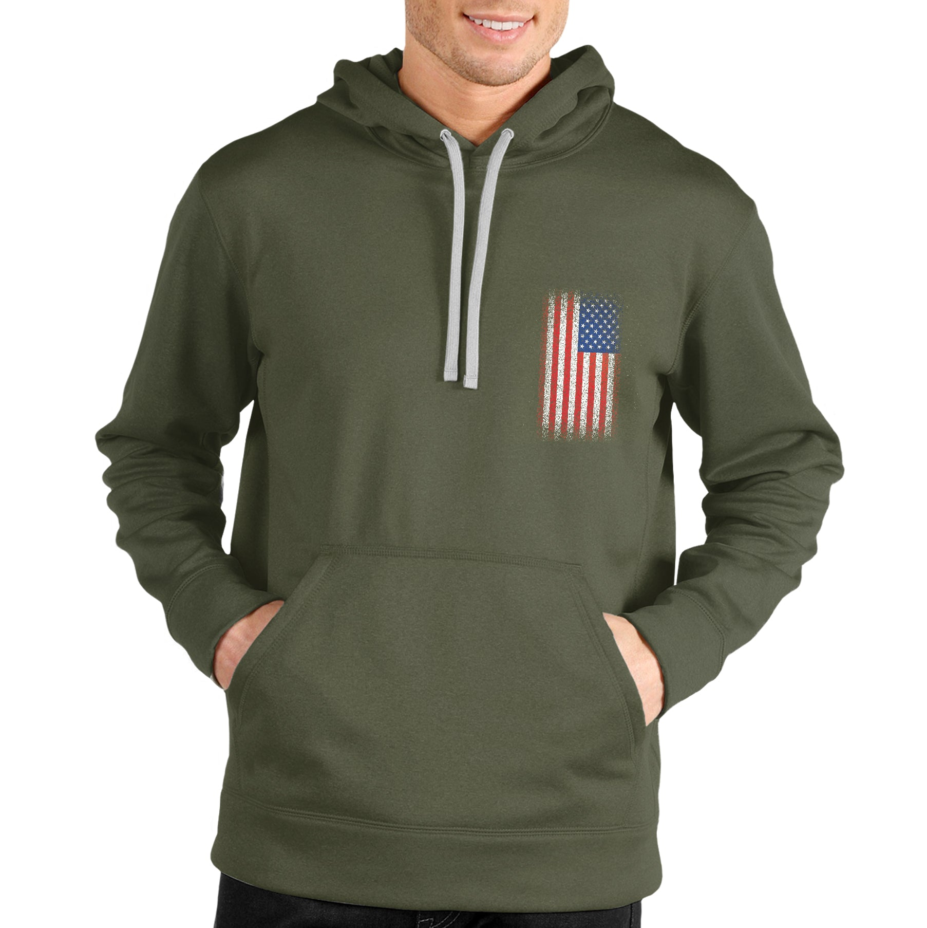 Home Of The Free Unisex Pullover Hoodie