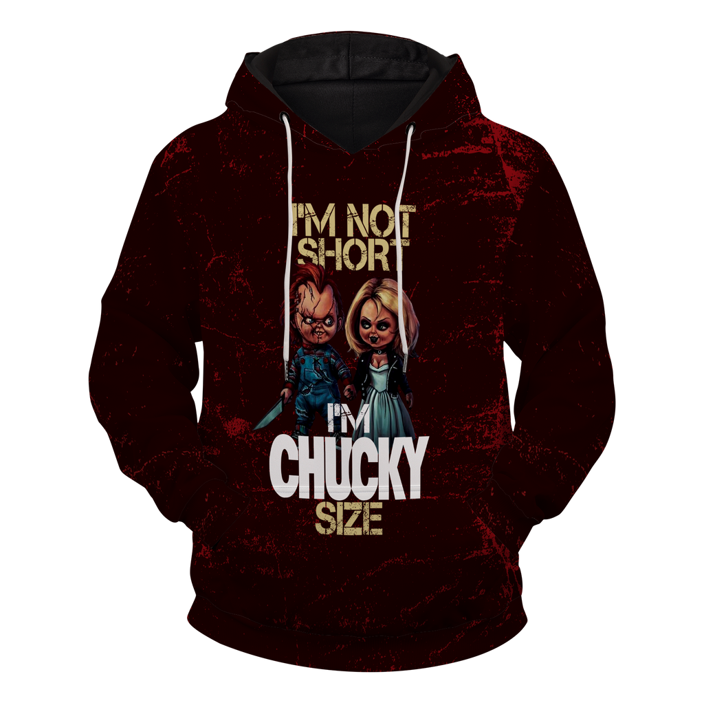 Im Chucky Size Unisex Pullover Hoodie