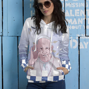Pope Francis Anime Unisex Pullover Hoodie