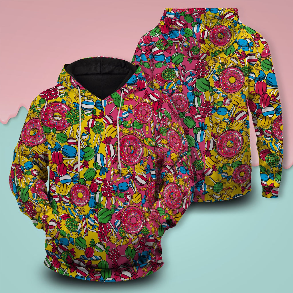 Candy Kicks Unisex Pullover Hoodie S