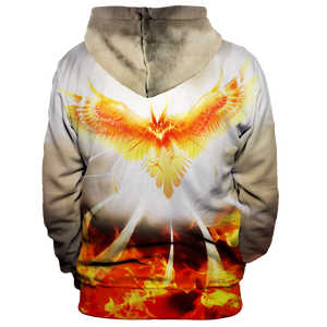 Flight Of Radiance Unisex Pullover Hoodie