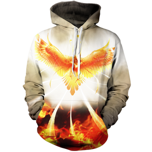 Flight Of Radiance Unisex Pullover Hoodie M