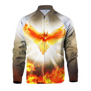 Flight Of Radiance Zipped Jacket