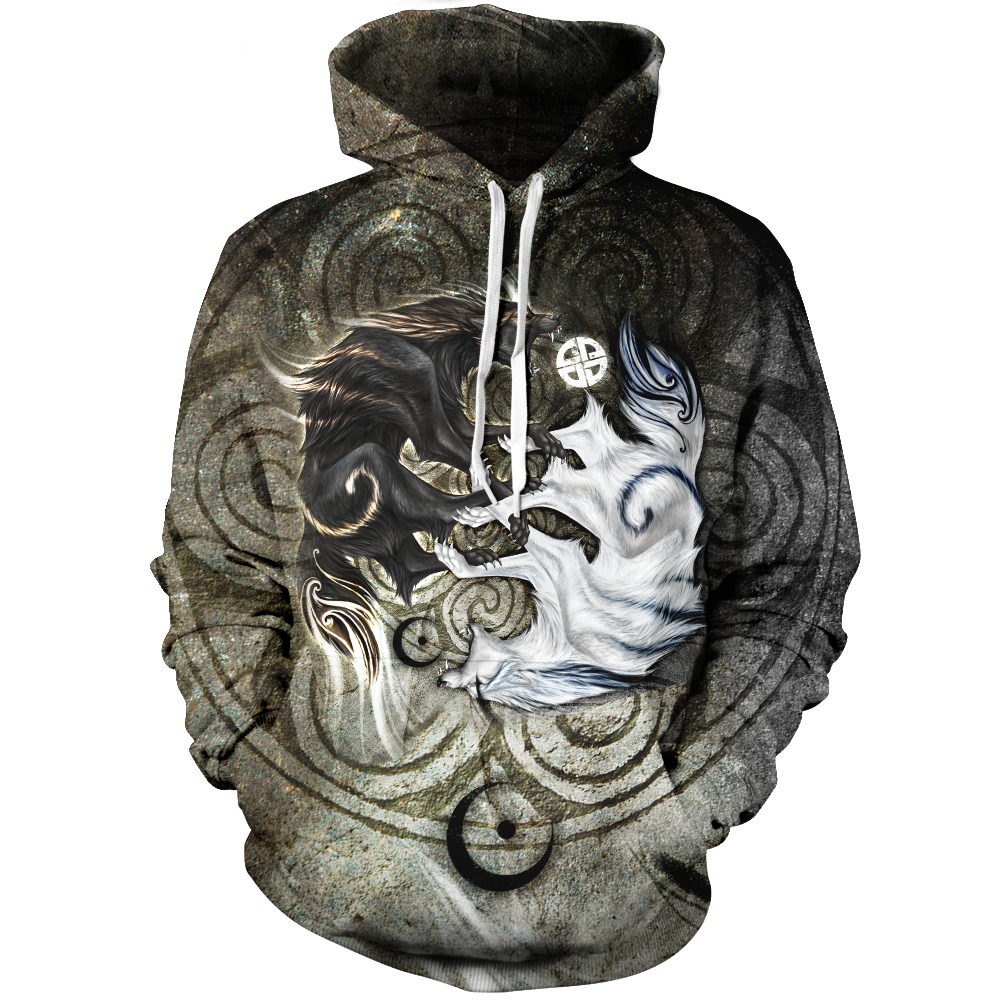 Legend Of Light & Darkness Unisex Pullover Hoodie M