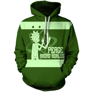 Peace Among Worlds Unisex Pullover Hoodie M