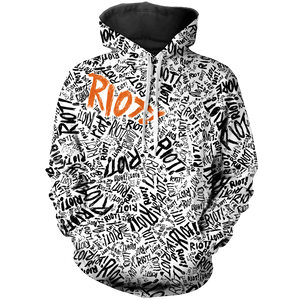 Riot Unisex Pullover Hoodie