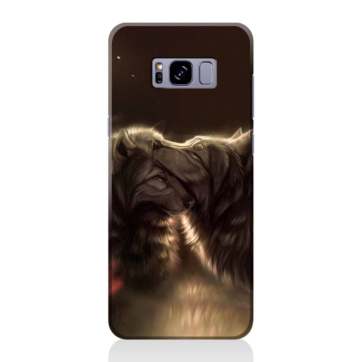 Divine Couple Wolf Phone Case Samsung S7