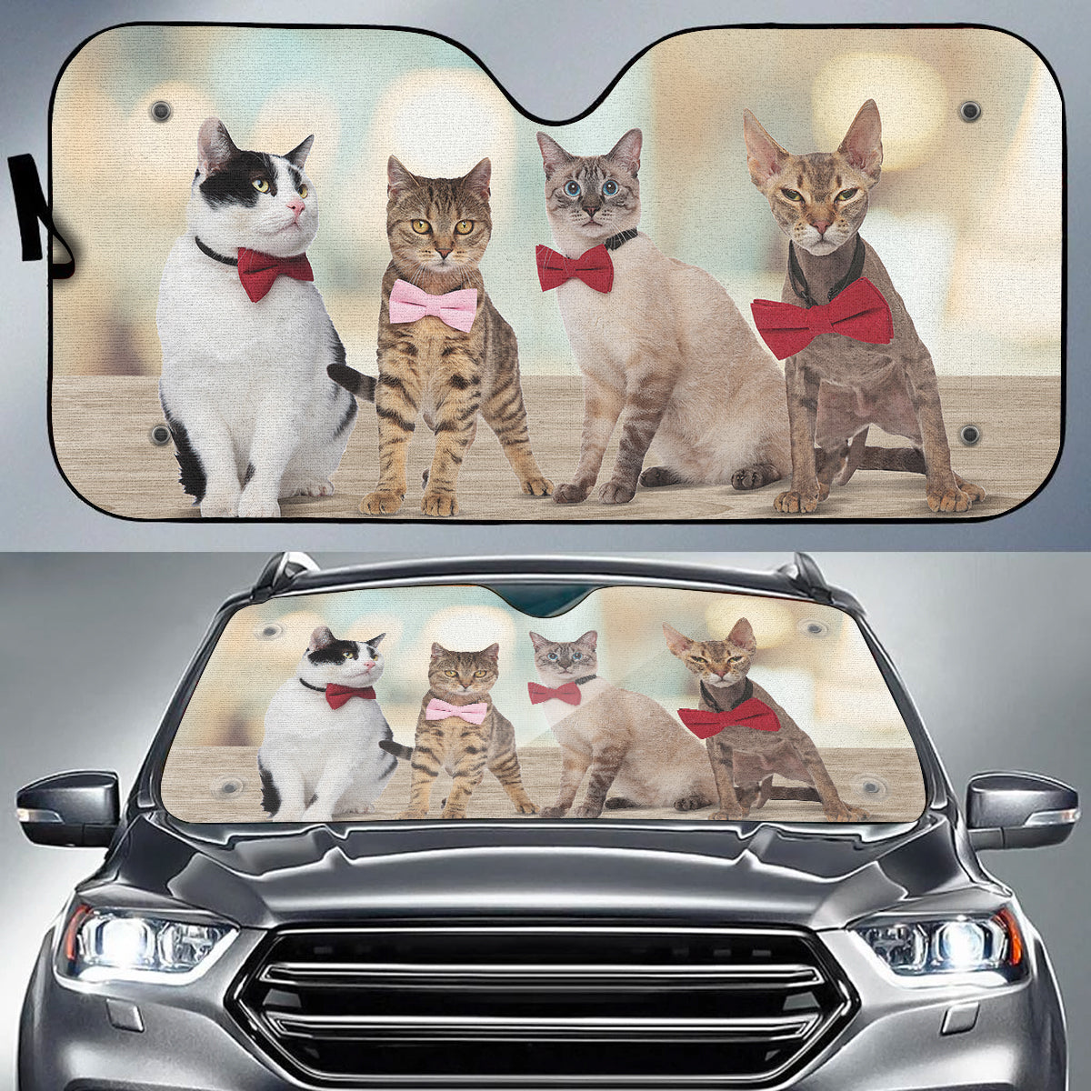 Gentle Cats Auto Sun Shade