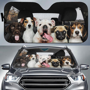 The Adorables Auto Sun Shade