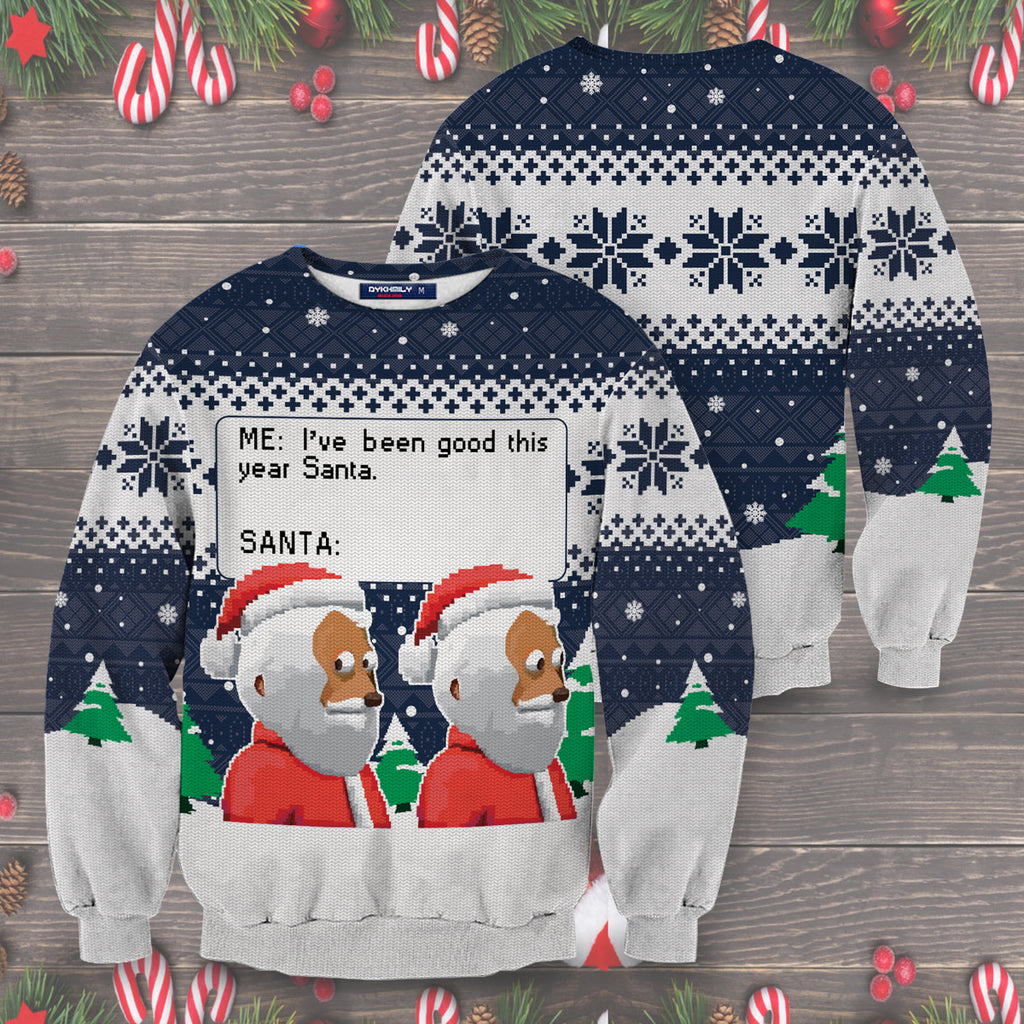 I've Been Good This Year Santa Unisex Sweater