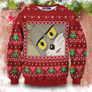 Surprised Tom Unisex Sweater