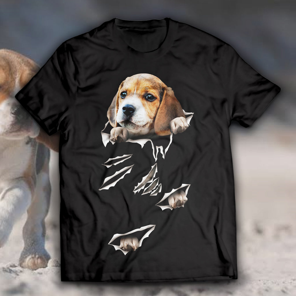 Beagle-Torn Unisex T-Shirt