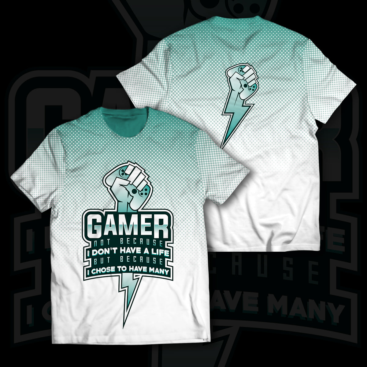 Gamer Many Lives Unisex T-Shirt