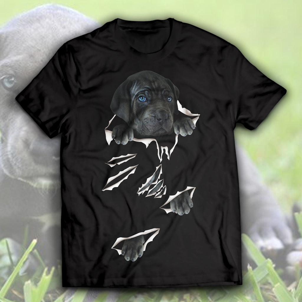 Great Dane-Torn Unisex T-Shirt