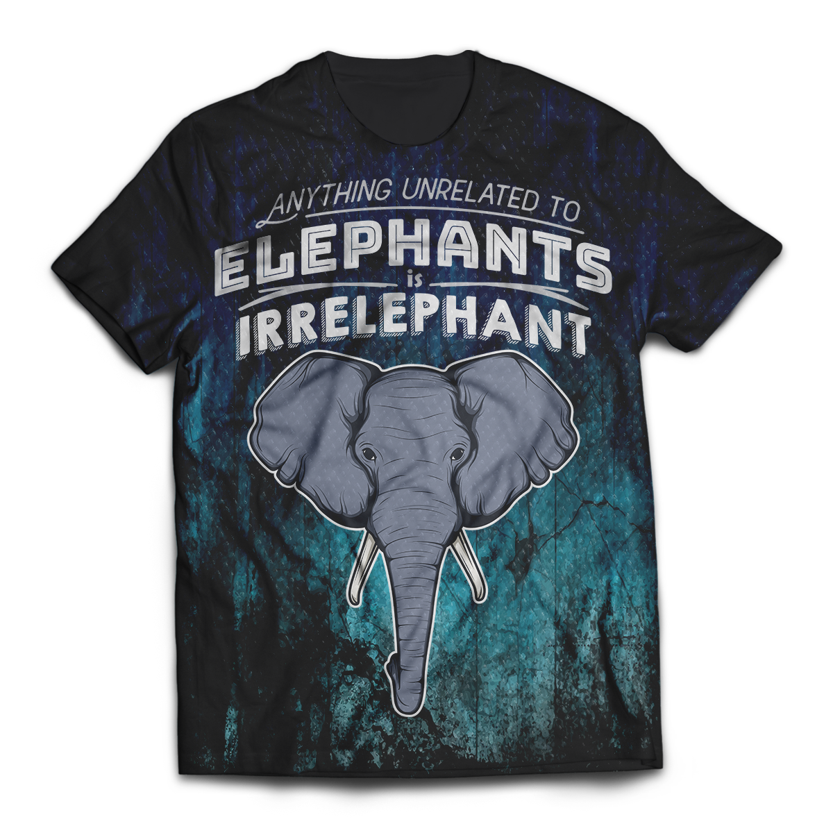 Irrelephant Unisex T-Shirt M