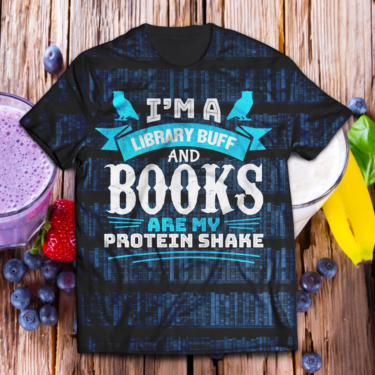 Library Buff Unisex T-Shirt S