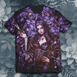 Morticia Addams Unisex T-Shirt S