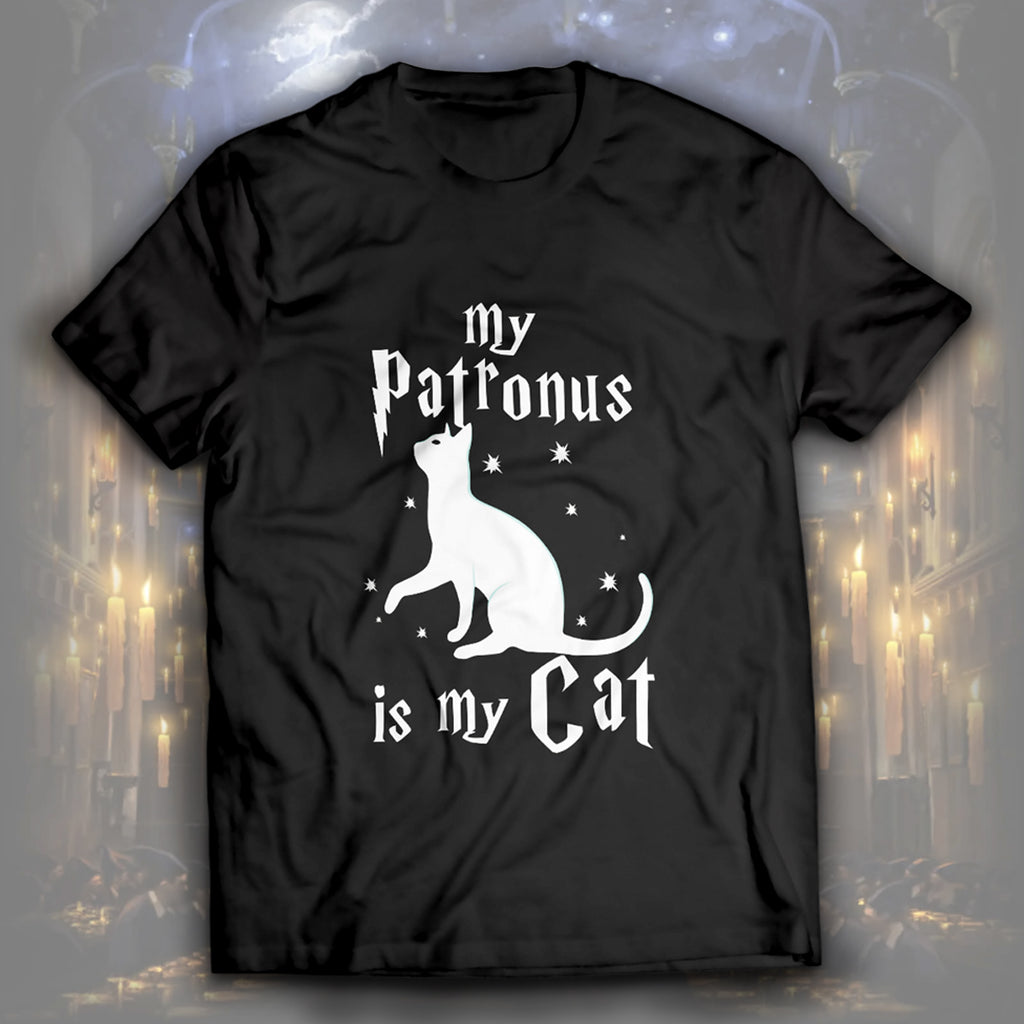 My Patronus Is My Cat Unisex T-Shirt