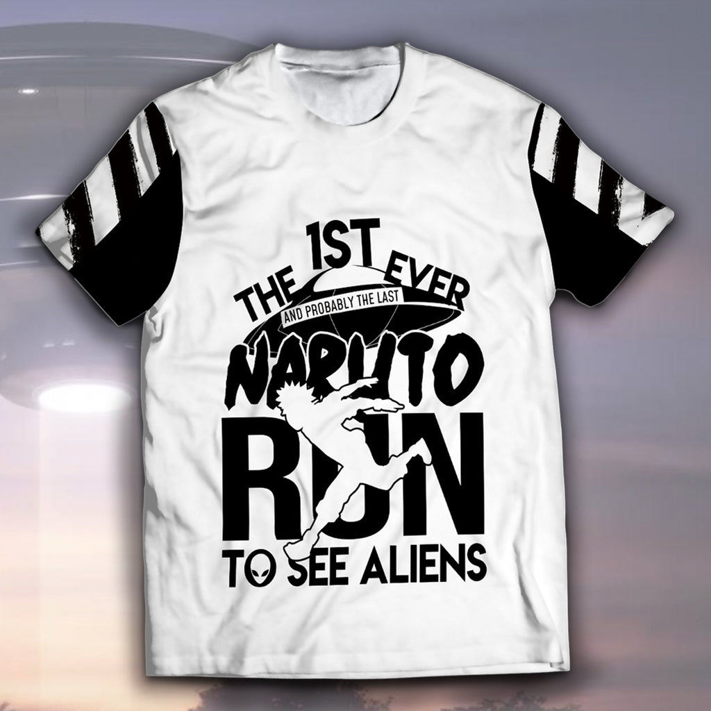 Naruto Run To See Aliens Unisex T-Shirt