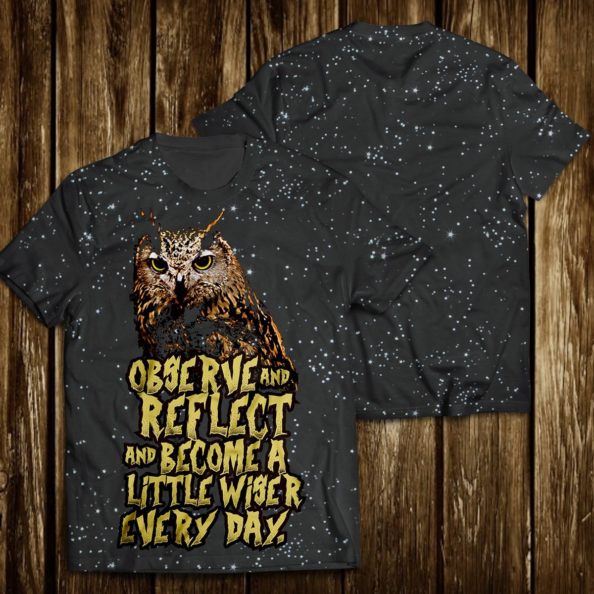 Observe And Reflect Unisex T-Shirt
