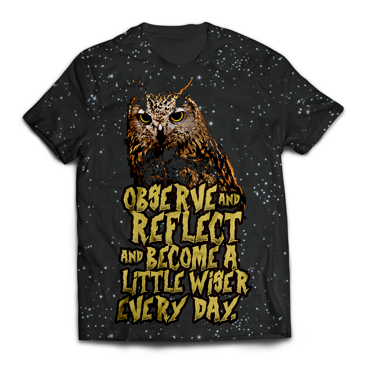 Observe And Reflect Unisex T-Shirt M