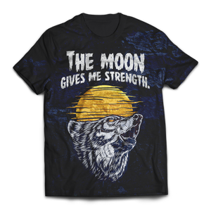The Moon Gives Me Strength Unisex T-Shirt