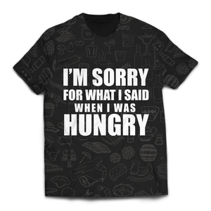When I Was Hungry Unisex T-Shirt