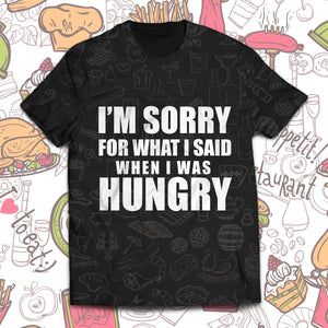 When I Was Hungry Unisex T-Shirt S