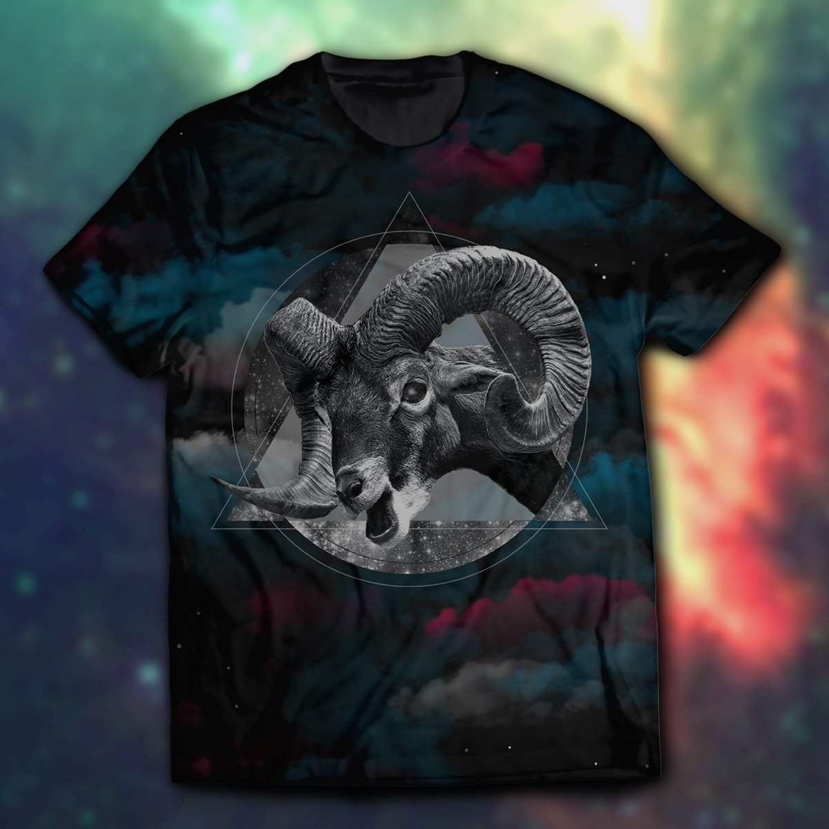 Horns & Space Unisex T-Shirt S
