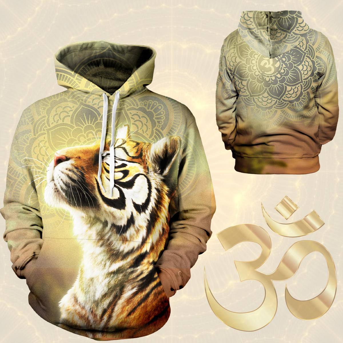 The Enlightened Unisex Pullover Hoodie M